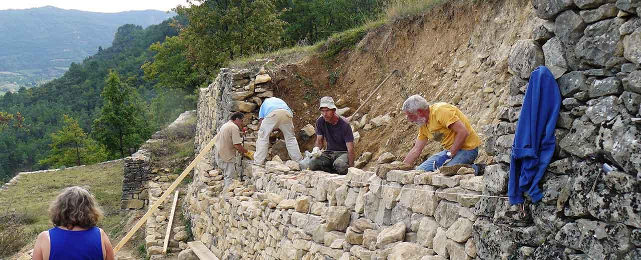 Formation pierre sèche